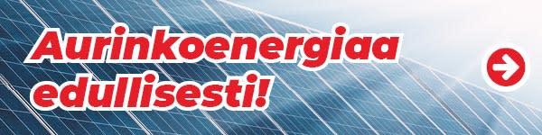 Aurinkoenergiaa edullisesti
