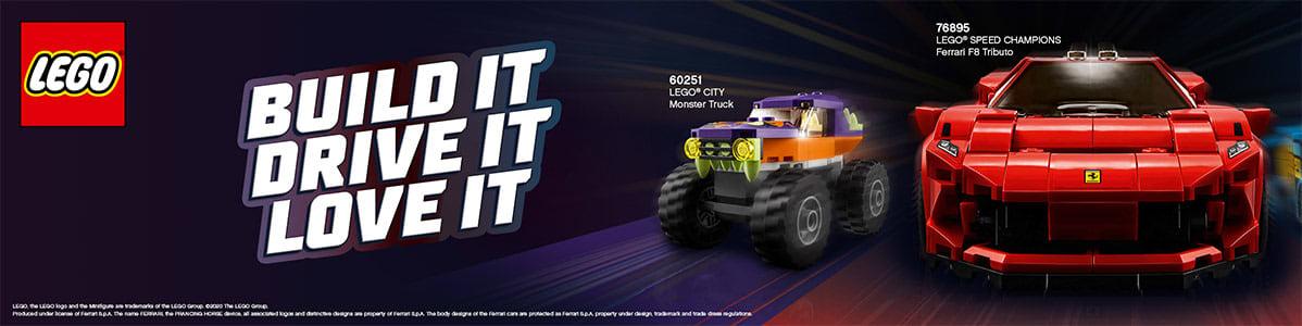 LEGO ajoneuvot
