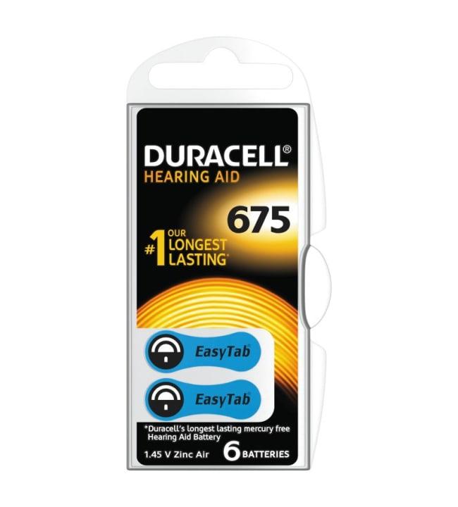 Duracell DA675 6kpl kuulokojeparisto
