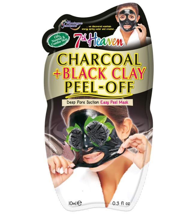 7th Heaven  Charcoal+Black Clay Peel-Off 10 ml kasvonaamio