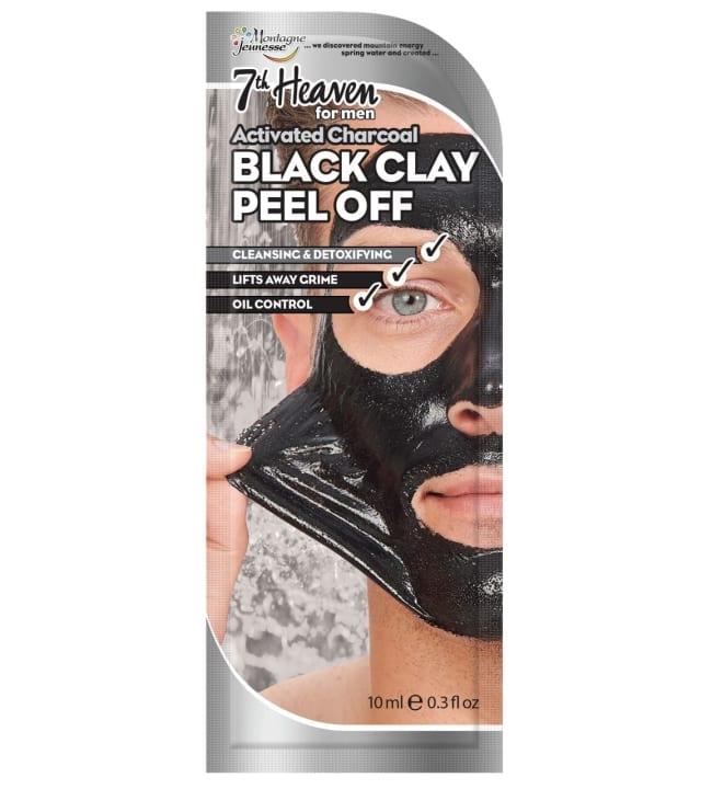 7th Heaven For Men Black Clay Peel-Off 10 ml kasvonaamio