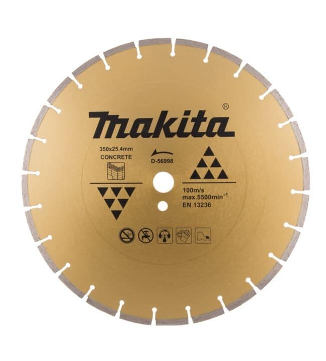 Makita Betoni 350 x 25,4/20mm timanttikatkaisulaikka