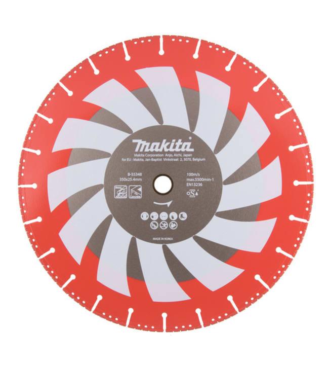 Makita Rescue 350 x 25,4 mm laikkaleikkurin timanttikatkaisulaikka