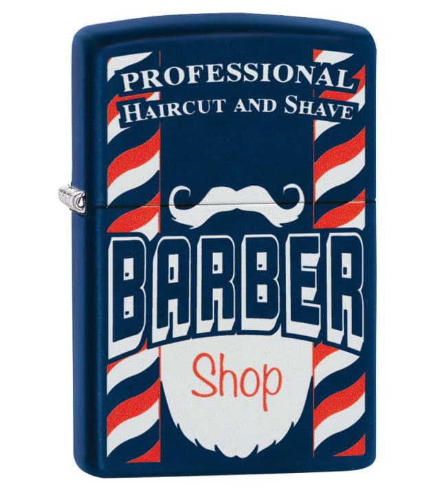 Zippo Barber Shop Z29919 sytytin