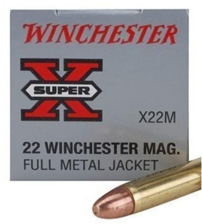 Winchester 22WMR FMJ 150 kpl patruuna