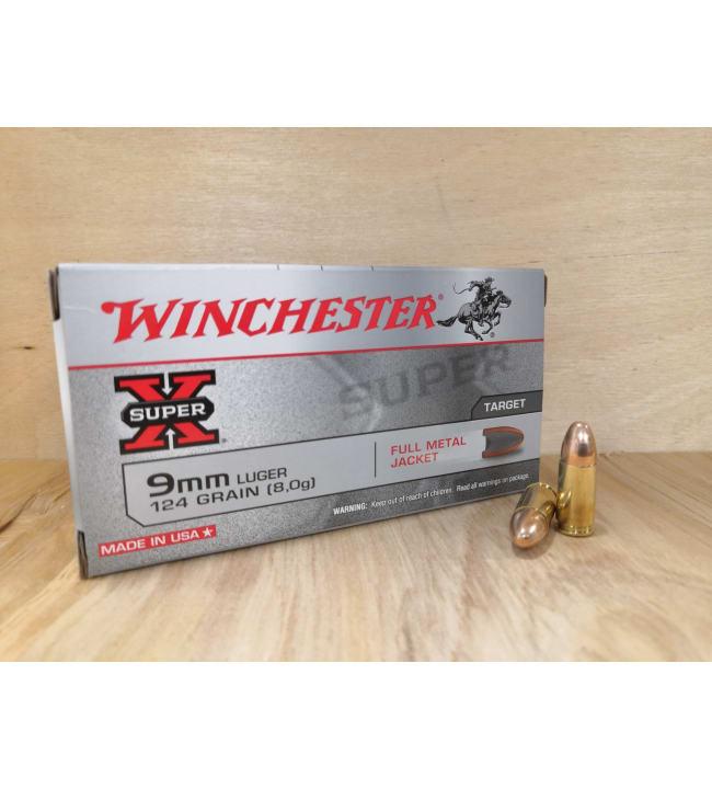Winchester Super-X 9 mm 8 g pistoolinpatruuna