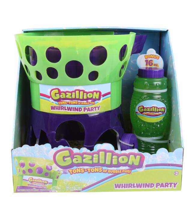 Gazillion Whirlwind Party Bubble Machine saippuakuplakone