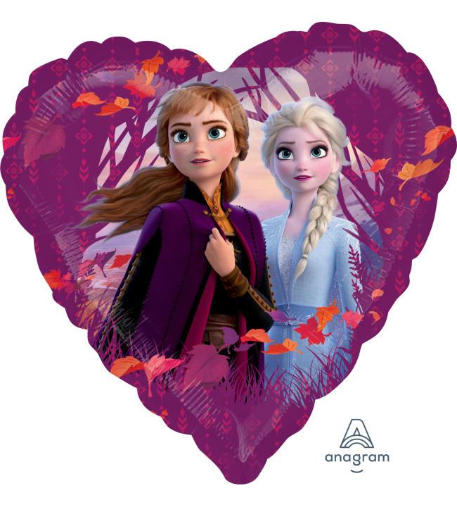 Frozen 2 sydän foliopallo