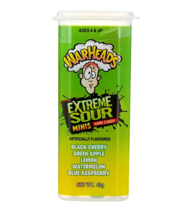 Warheads Extreme Sour Minis 49 g Hard Candy