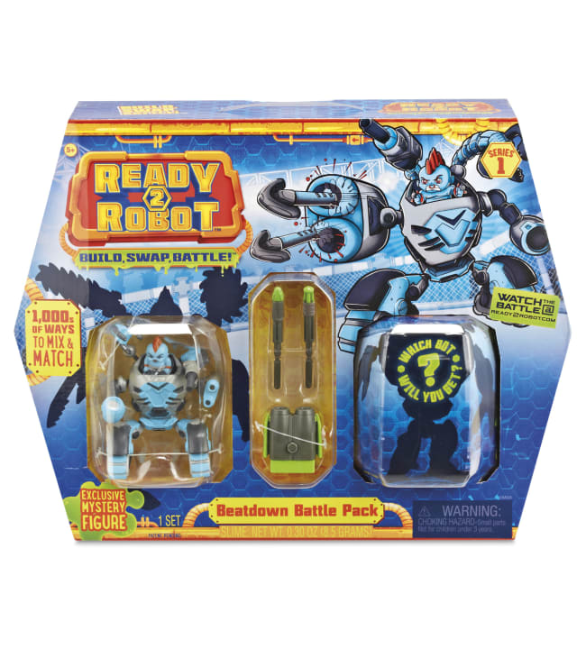 Ready2Robot Beatdown Battle Pack taistelurobottipakkaus