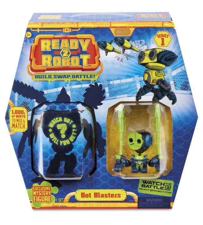 Ready2Robot Bot Blasters robotti ja tarvikkeet