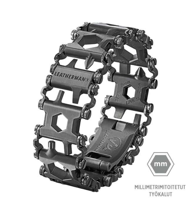 Leatherman Tread Metric Black monitoimityökalu