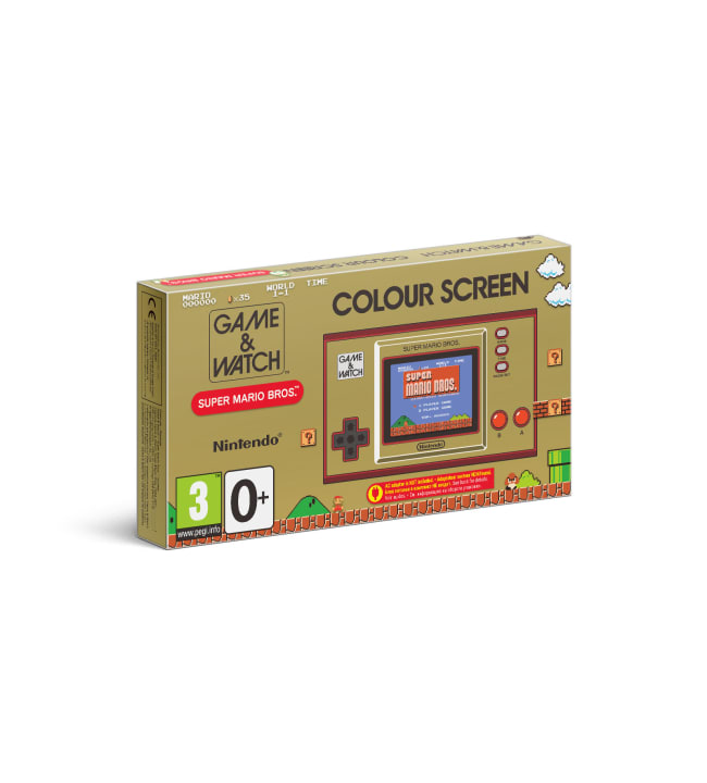 Game & Watch: Super Mario Bros. (35v Limited Edition) käsikonsoli