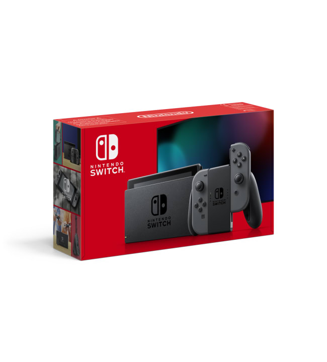 Nintendo Switch (new) harmailla Joy-Con -peliohjaimilla