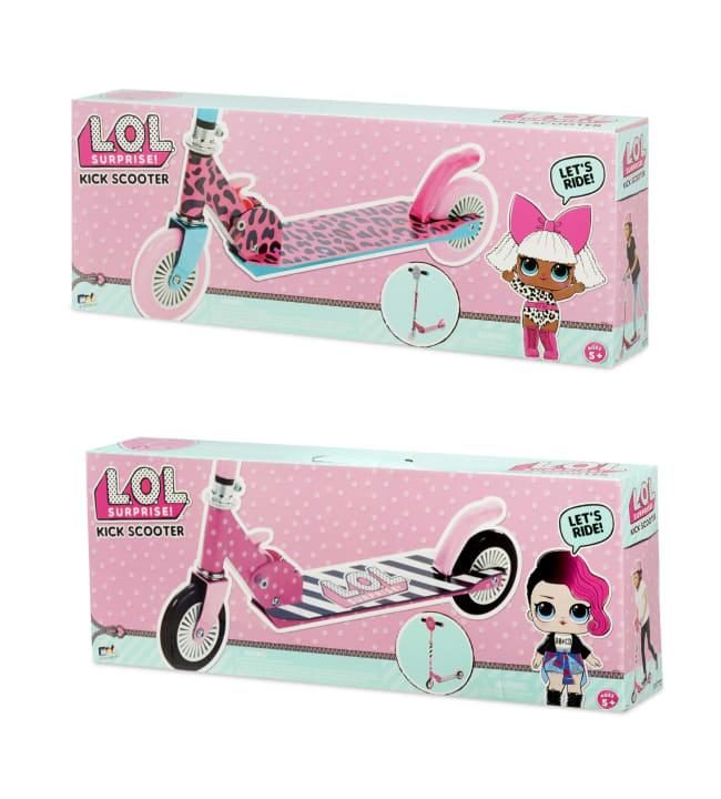 L.O.L. Surprise Folding Kick Scooter potkulauta