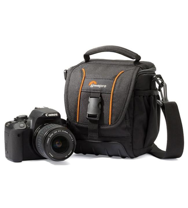 Lowepro Adventura SH 120 II musta kameralaukku