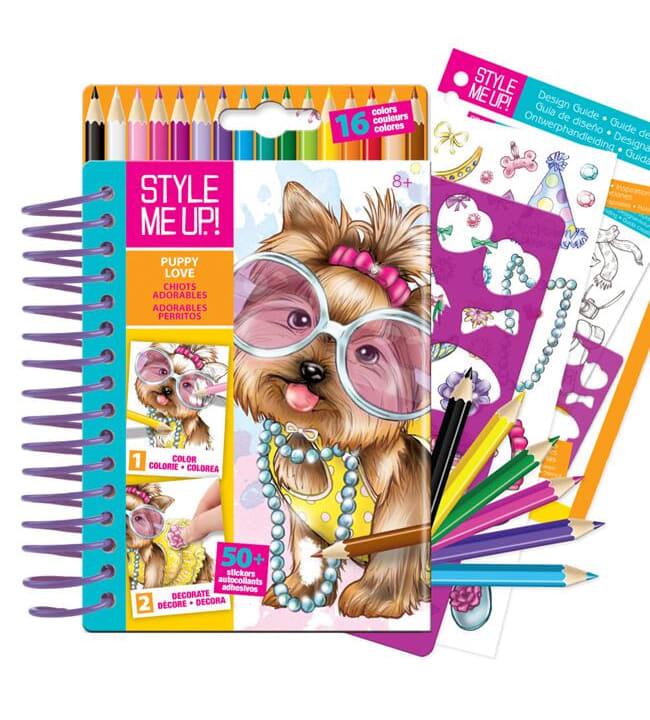 Style me up! Koiraystävä pieni suunnittelukirja