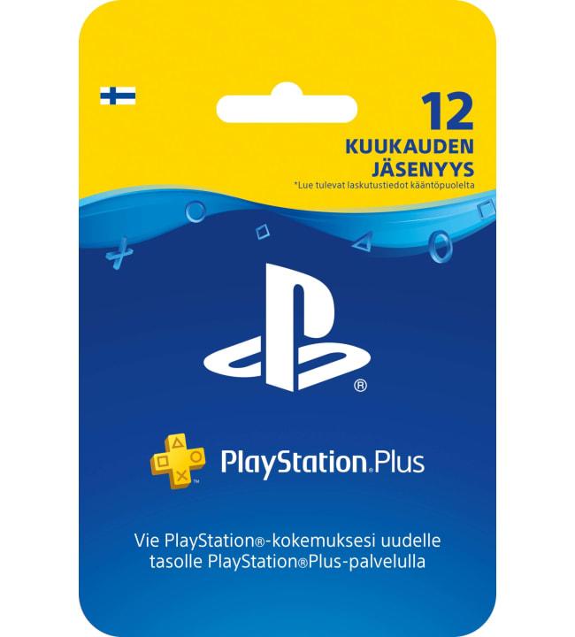 Sony PlayStation Plus 12 kuukauden jäsenyys
