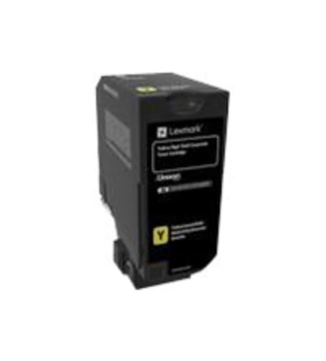 Lexmark CX725 Tuottoisa keltainen värikasetti