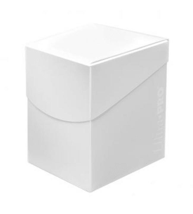 Ultra-Pro Deck Box PRO Eclipse Arctic White 100+ korttikotelo