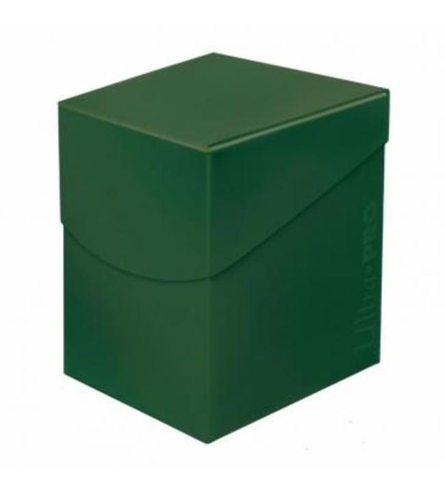 Ultra-Pro Deck Box PRO Eclipse Forest Green 100+ korttikotelo