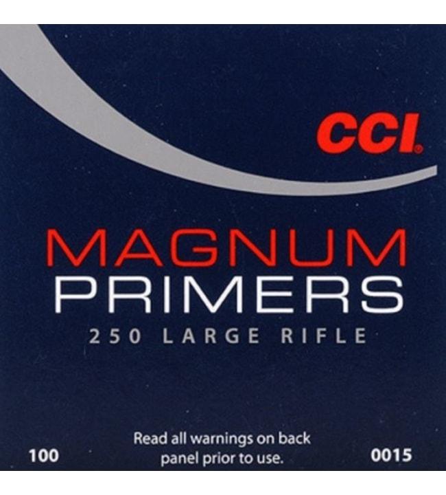 CCI 250 LR Magnum nalli 100 kpl