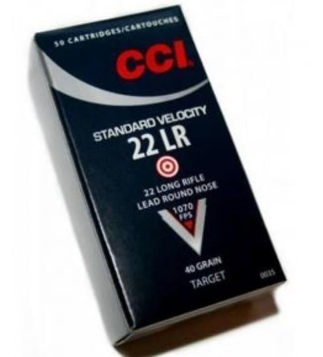 CCI 22LR Standard 2,6g 50 kpl patruuna
