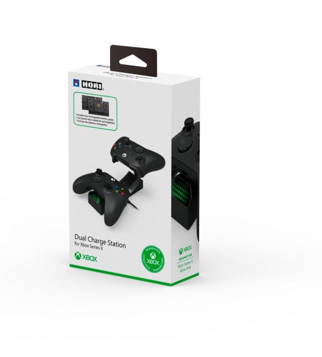 Hori Xbox Series S/X lataustelakka kahdelle ohjaimelle