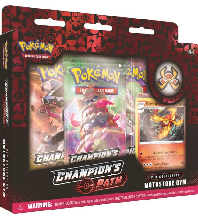 Pokemon Champion's Path Pin Collection 1/2020 keräilypakkaus