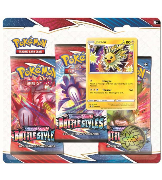 Pokemon Sword & Shield Chilling Reign 3 Pack -paketti