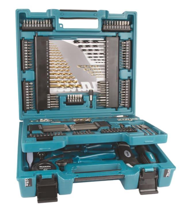 Makita D-37194 200-osainen työkalu- ja tarvikesarja