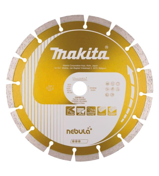 Makita Nebula 230x22,23mm timanttikatkaisulaikka