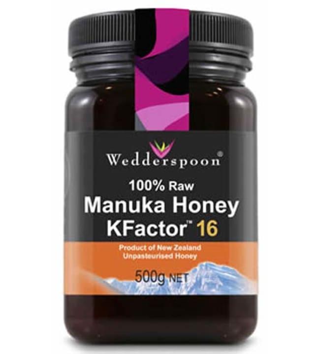 Wedderspoon KF16 500 g Manuka-hunaja