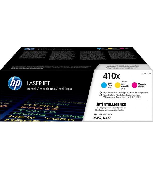 HP 410X syaani/Magenta/keltainen värikasetti
