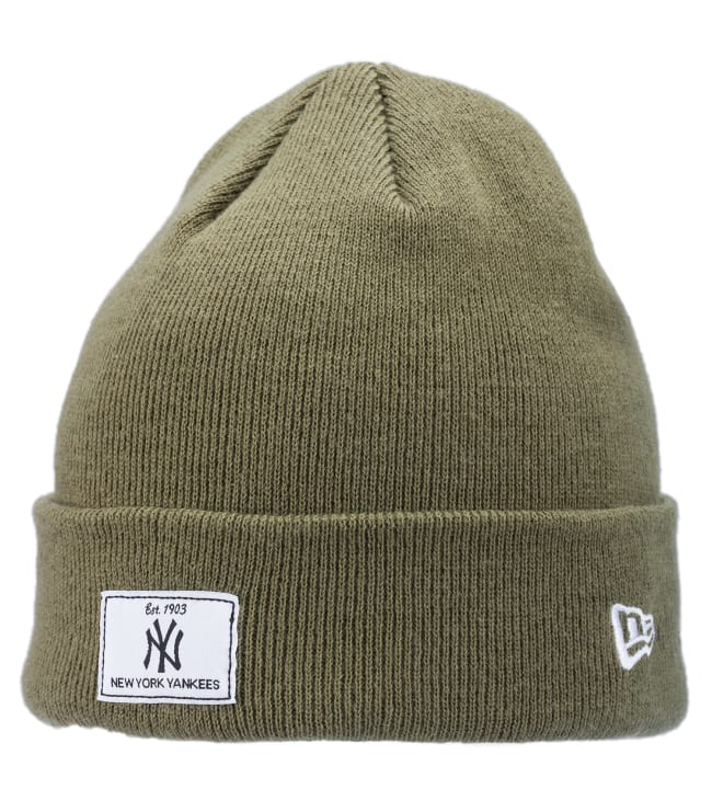 New Era Rectangle Patch Knit New York Yankees pipo
