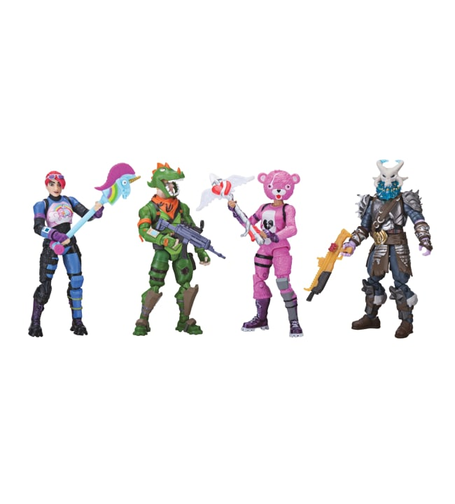 Fortnite Squad Mode 4:n figuurin pakkaus
