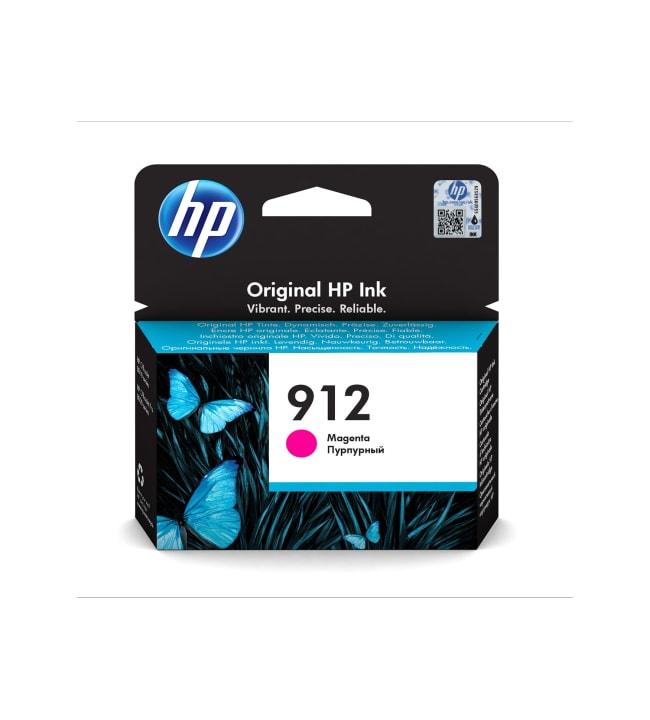 HP 912 magenta mustepatruuna