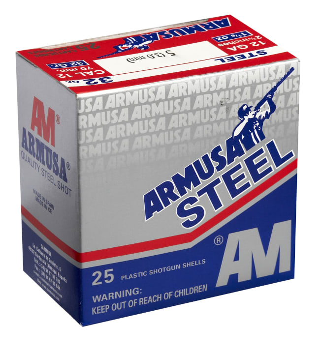 Armusa 12/70 Steel Shot 32g 25 kpl haulikonpatruuna