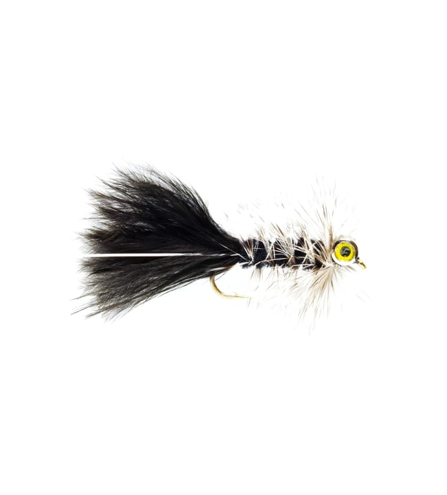 Fulling Mill Bead Eye Black Streamerperho