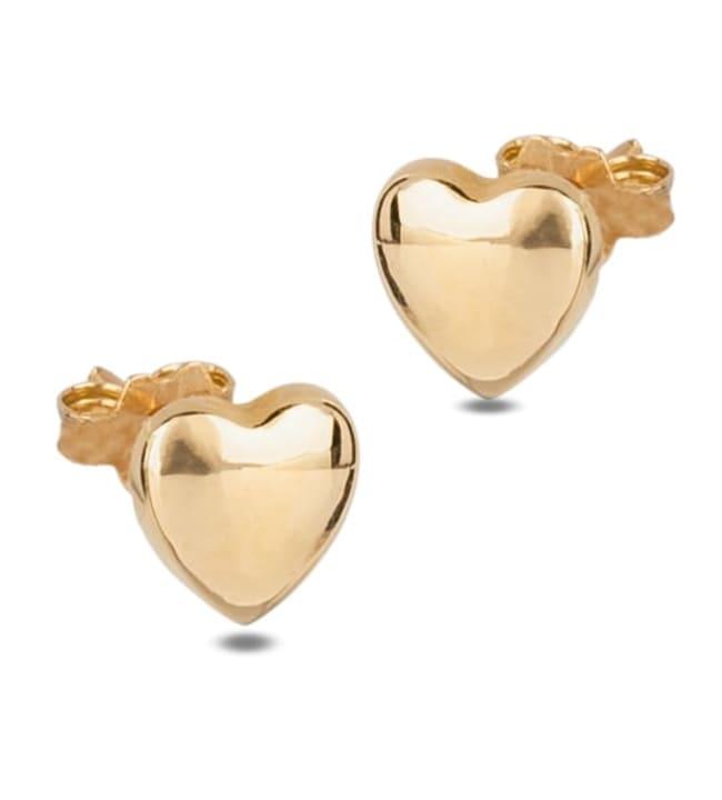 Kultaiset sydänkorvakorut