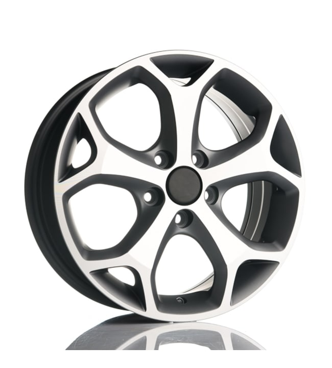 Fit for Ford Kinect TitaniumPolish 6.5x15 Jako:5x108 ET:42 vanne