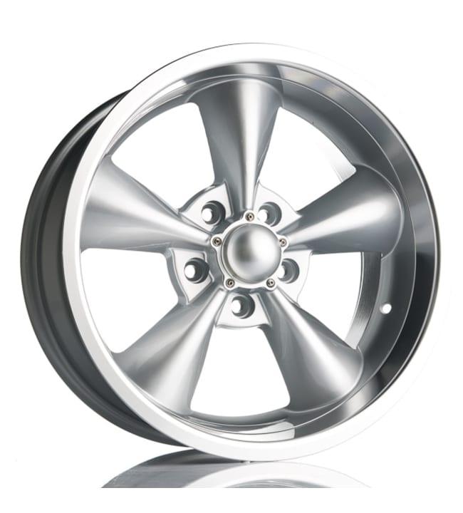 Barzetta America Silver LipPolish 9x18 Jako:5x114.3 ET:0 vanne