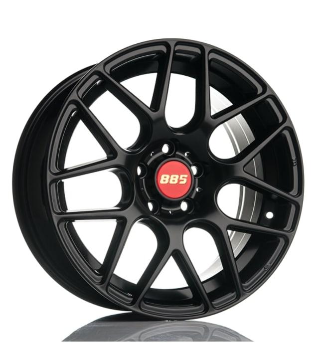 885 Motorsport Black 7.5x17 Jako:5x112 ET:35 vanne