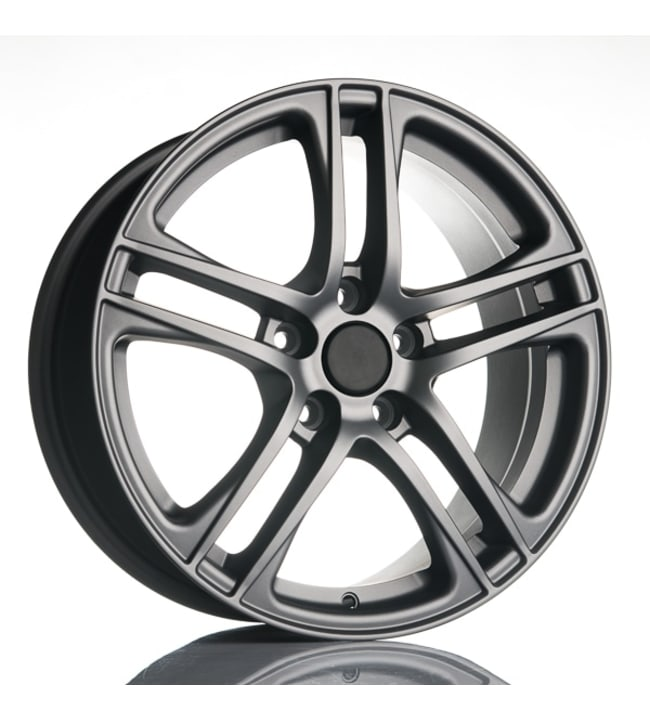 Fit for Skoda RR8 Titanium 7.5x17 Jako:5x112 ET:45 vanne