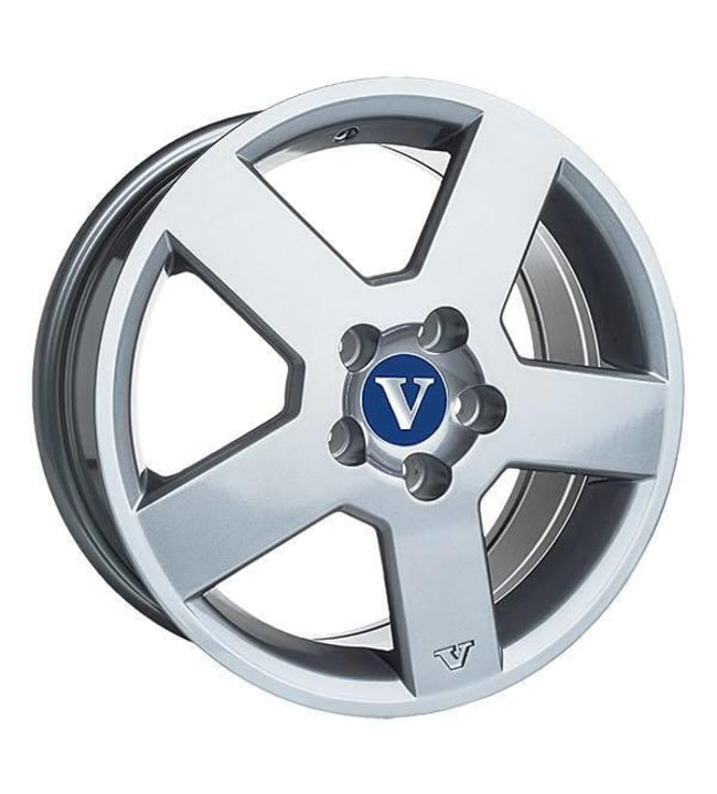 V-Wheels Pegasus Silver 7.5x17 Jako:5x108 ET:43 vanne