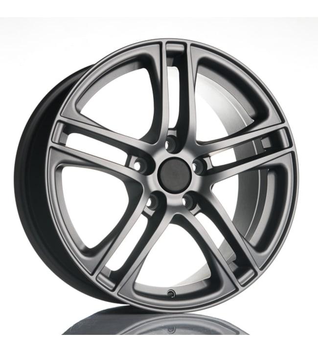 Fit for Audi RR8 Titanium 7.5x17 Jako:5x112 ET:35 vanne