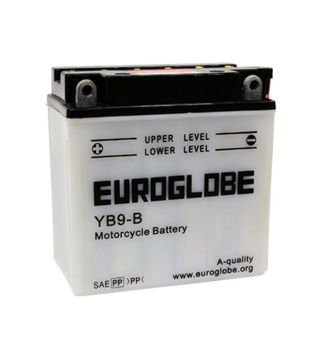 Euroglobe 12V 9Ah moottoripyöräakku