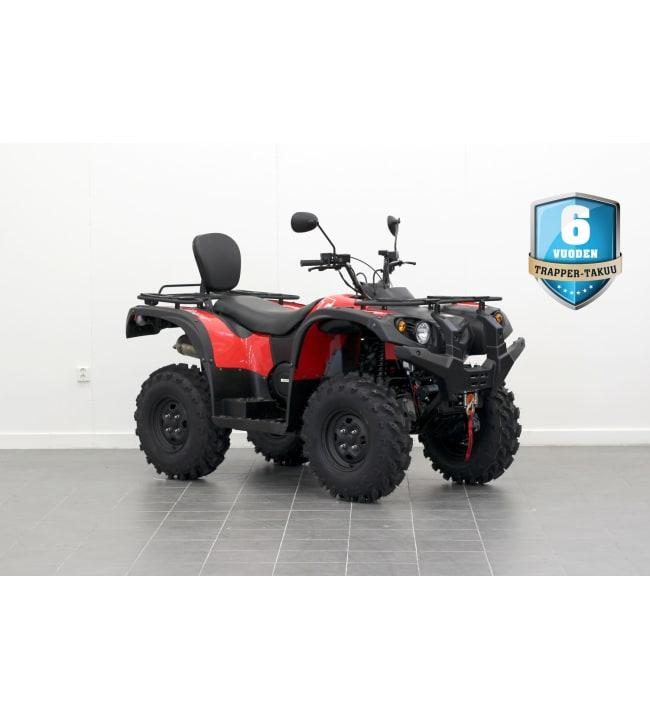 Trapper 500 T3B ATV punainen mönkijä