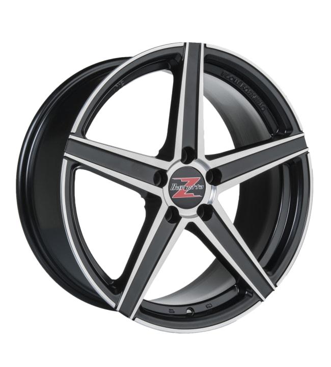 Barzetta Vulcanus Black Polished 8x18 jako: 5x108 ET:40 vanne