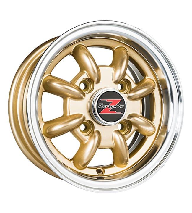 Barzetta Classic Microlite Gold Polished Lip 4.5x10 jako: 4x101.6 ET:21 vanne